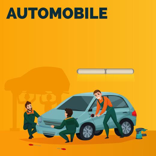 Produits pour entretien automobile