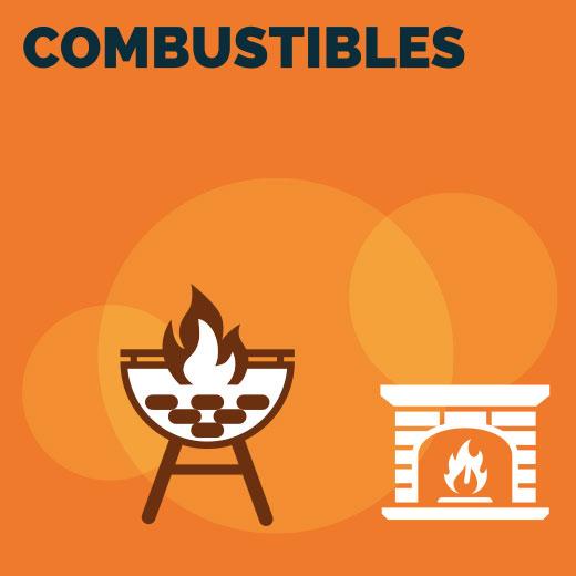 Combustibles et allume feu