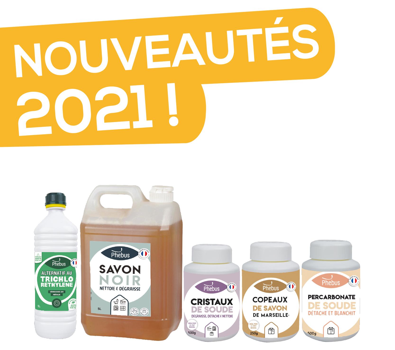 Découvrez nos nouveautés 2021 !
