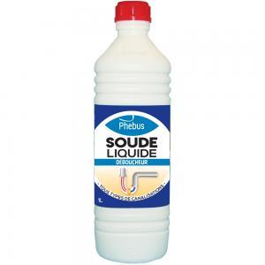 Déboucheur : Soude liquide déboucheur Phébus