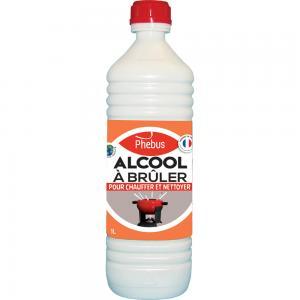 Combustible : Alcool à  brûler Phébus