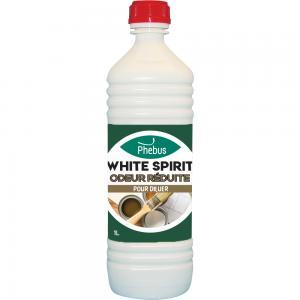 Dilue les peintures glycérophtaliques : White spirit odeur réduite Phébus