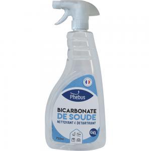 Nettoyant désodorisant : Bicarbonate de soude en gel Phébus