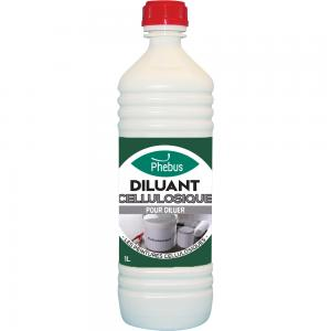 Diluant nettoyant : Diluant cellulosique Phébus