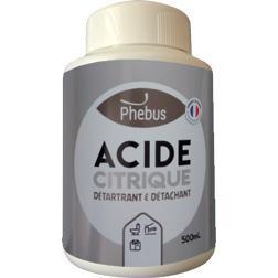 Anticalcaire : Acide Citrique  Phébus
