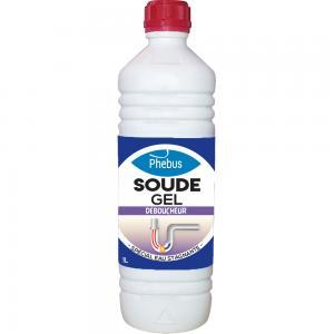 Déboucheur : Soude caustique en gel Phébus
